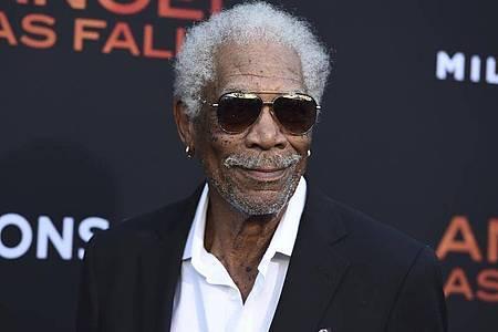 Morgan Freeman erinnert an den Bürgerrechtler Martin Luther King. Foto: Jordan Strauss/Invision/AP/dpa