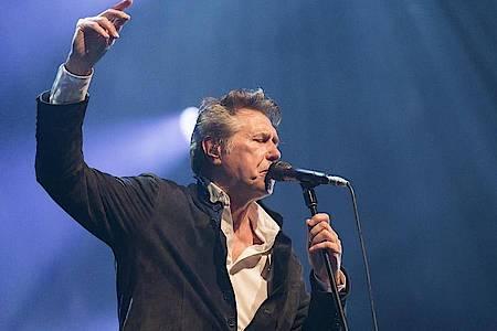 Bryan Ferry wird 75. Foto: Cyril Zingaro/KEYSTONE/dpa