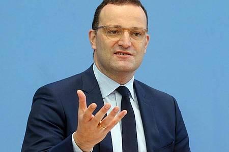 Bundesgesundheitsminister Jens Spahn (CDU). Foto: Wolfgang Kumm/dpa