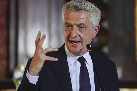 Filippo Grandi ruft zahlreiche Länder auf, die Prinzipien der Flüchtlingskonvention zu verteidigen. Foto: Fernando Vergara/AP/dpa