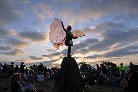Wann kann das Glastonbury-Festival endlich sein 50-jähriges Jubiläum feiern?Die Veranstalter hoffen auf 2022. Foto: Aaron Chown/PA Wire/dpa