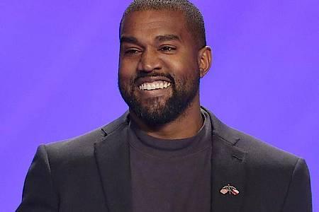 Unter der Dusche besonders kreativ: US-Rapper Kanye West. Foto: Michael Wyke/FR33763 AP/dpa