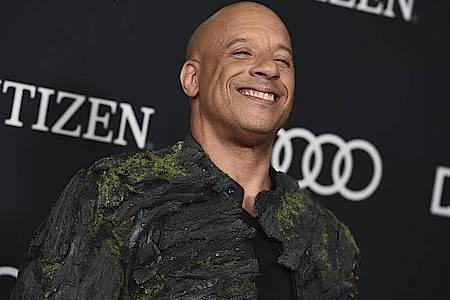 Vin Diesel dreht nicht - er singt. Foto: Jordan Strauss/Invision/AP/dpa