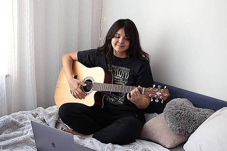 Mit Fretello ist gut Noten lernen, sagt ein Test von «Heise online». Foto: Fretello/dpa-tmn