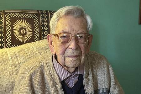 Bob Weighton ist mit 112 Jahren in Großbritannien gestorben. Foto: Steve Parsons/PA Wire/dpa