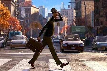 Eine Szene aus dem Animationsfilm «Soul», der vom American Film Institute zu einem der zehn besten Filme des Jahres gekürt wurde. Foto: Uncredited/Disney Pixar/AP/dpa