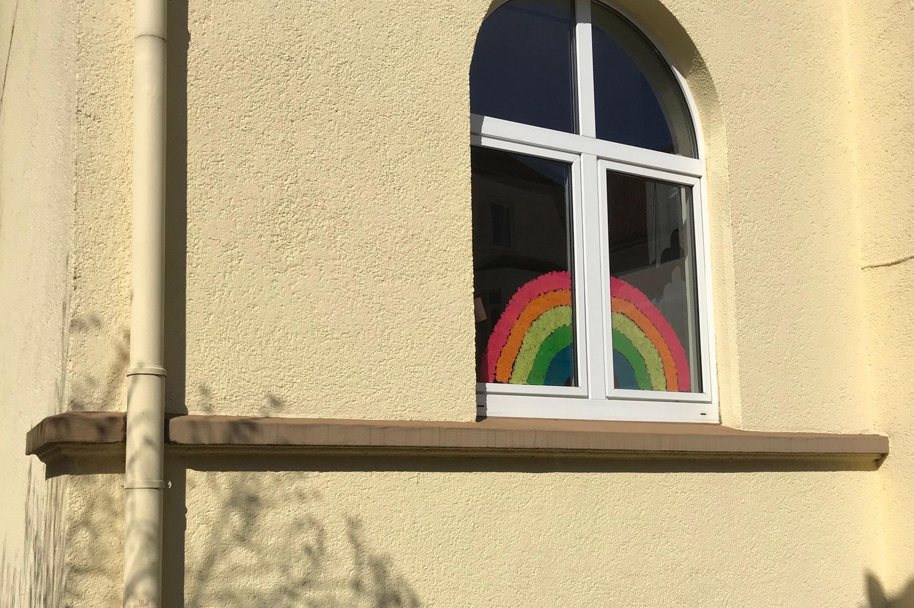 Regenbogen-Fenster