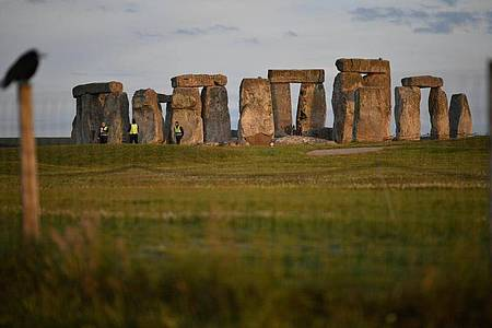 Das Bauwerk Stonehenge. Foto: Ben Birchall/PA Wire/dpa