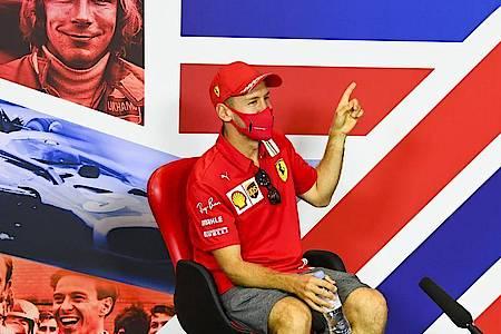 Ob und für wen Sebastian Vettel in der nächsten Saison in der Formel 1 fährt, ist noch unklar. Foto: Mark Sutton/Pool Motorsport Images/AP/dpa