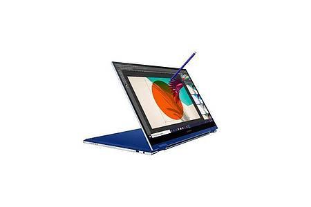 Verwandlungskünstler mit Stift:Das neue Samsung Galaxy Book Flex. Foto: Samsung/dpa-tmn