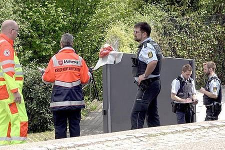 Ein Familienvater steht im Verdacht, seine Frau und einen Sohn getötet zu haben. Foto: Aaron Klewer/Einsatz-Report24/dpa