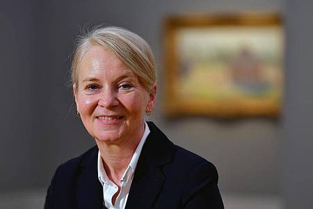 Ortrud Westheider, Kunsthistorikerin und Leiterin des Museums Barberini, möchte im Sommer wieder ihr Museum öffnen. Foto: Soeren Stache/dpa