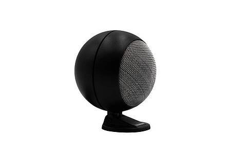 Für einen Globe Speaker ruft Blaupunkt 39 Euro auf. Die Lautsprecher müssen an ihrem Standfuß verschraubt werden - vorzugsweise mit der Kofferraumabdeckung. Foto: Blaupunkt/dpa-tmn