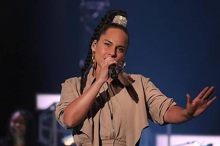 Sängerin Alicia Keys kämpft gegen den Rassismus in den USA. Foto: Isabel Infantes/PA Wire/dpa