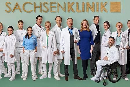 «In aller Freundschaft»: das Team der Serie. Foto: Rudolf Wernicke/MDR/obs