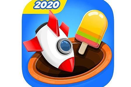 Bei «Match 3D» gilt es, die richtige Kombination an 3D-Objekten zu finden. Foto: App Store von Apple/dpa-infocom