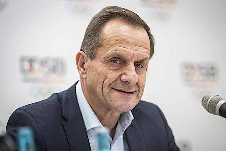 Hält eine Absage der Tokio-Spiele 2021 nicht für ausgeschlossen: DOSB-Boss Alfons Hörmann. Foto: Frank Rumpenhorst/dpa