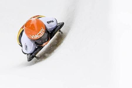 Tina Hermann patzte und gewann trotzdem. Foto: Gian Ehrenzeller/KEYSTONE/dpa