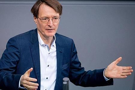 Karl Lauterbach ist der Gesundheitsexperte der SPD. Foto: Kay Nietfeld/dpa
