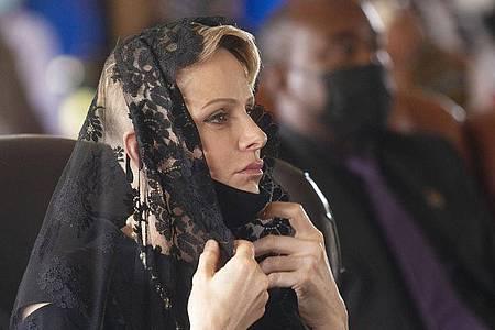 Charlène, Fürstin von Monaco, kann bald wieder zu ihrer Familie zurück. Foto: Phill Magakoe/AFP Pool/AP/dpa