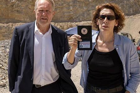 Moritz Eisner (Harald Krassnitzer) und Bibi Fellner (Adele Neuhauser) sind einer Verschwörung auf der Spur. Foto: ARD Degeto/ORF/dpa