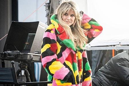 Heidi Klums Castingshow «Germany`s Next Topmodel» geht in die 16. Staffel. Foto: Kay Nietfeld/dpa