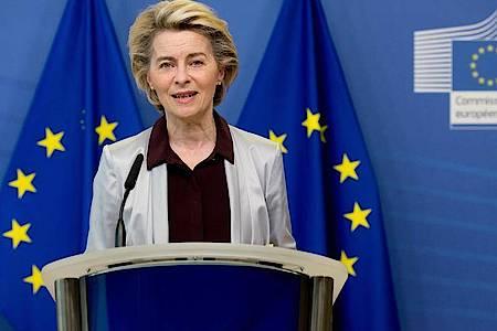 EU-Kommissionschefin Ursula von der Leyen sucht nach einer kreativen Lösung des Brexit-Streits. Foto: Etienne Ansotte/European Commission/dpa