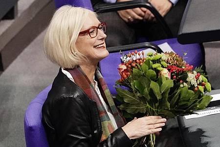 Dagmar Ziegler (SPD) ist neue Bundestagsvizepräsidentin. Foto: Michael Kappeler/dpa