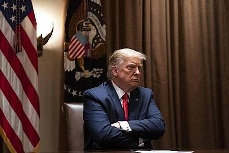 US-Präsident Donald Trump wehrt sich seit langem gegen Einblicke zum Beispiel in seine Steuererklärungen. Foto: Evan Vucci/AP/dpa