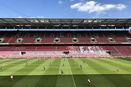 Der Sieger der Europa League wird in Köln gekürt. Foto: Holger Schmidt/dpa