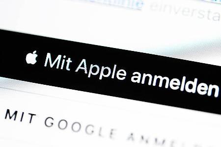 Wenn in iOS-Apps Anmelde-Dienste angeboten werden, muss in jedem Fall auch Apples Angebot dabei sein. Foto: Catherine Waibel/dpa-tmn
