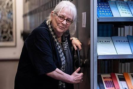 Ihr Herz gehörte der Poesie:Ursula Haeusgen ist mit 78 Jahren gestorben. Foto: Sven Hoppe/dpa