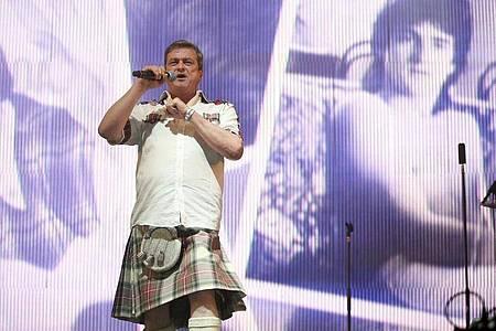 Les McKeown ist tot. Der ehemalige Sänger der Bay City Rollers starb im Alter von 65 Jahren. Foto: Jane Barlow/PA Wire/dpa