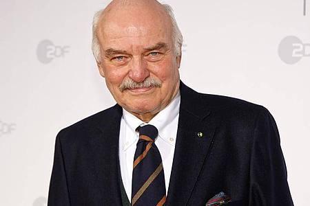Der Schauspieler Charles Brauer macht auch mit Mitte 80 weiter. Foto: Georg Wendt/dpa