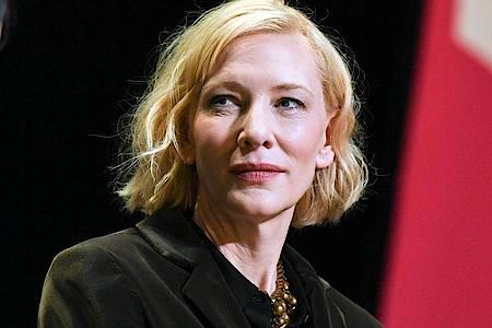 Die Schauspielerin Cate Blanchett sitzt diesmal der Jury in Venedig vor. Foto: Jens Kalaene/dpa-Zentralbild/dpa