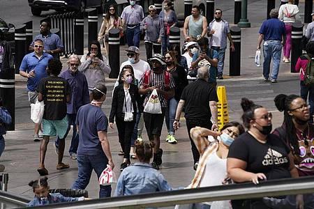 Im Mai hatte die CDC das Maskentragen für Geimpfte nicht mehr für notwendig gehalten. Foto: John Locher/AP/dpa