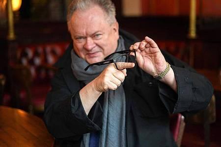 Heinz Rudolf Kunze:«Das Spätwerk fängt jetzt an.». Foto: Jörg Carstensen/dpa