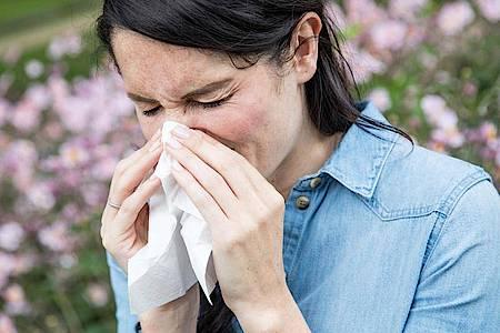 Die Nase läuft und läuft. Fließschnupfen kann auch ein Symptom von einer Kreuzreaktion sein. Foto: Christin Klose/dpa-tmn