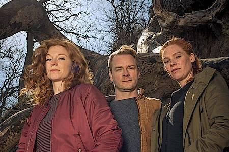 Ein starkes Team: Jule (Marleen Lohse), Hauke (Hinnerk Schönemann) und Lona (Henny Reents). Foto: NDR/ARD Degeto/Gordon Timpen/dpa