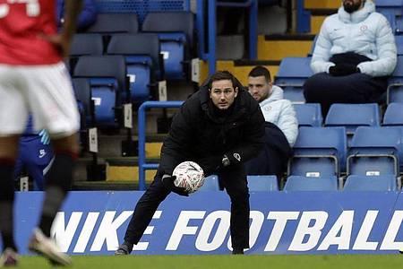 Chelseas Coach Frank Lampard steht vor dem Aus. Foto: Matt Dunham/AP/dpa