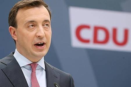 Paul Ziemiak, CDU-Generalsekretär. Foto: Wolfgang Kumm/dpa
