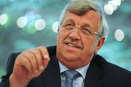 Der damalige nordhessische Regierungspräsident Walter Lübcke (CDU). Foto: Uwe Zucchi/dpa