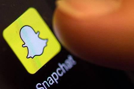 Die Foto-App Snapchat hat im zweiten Quartal starken Zulauf verzeichnet. Foto: Patrick Seeger/dpa