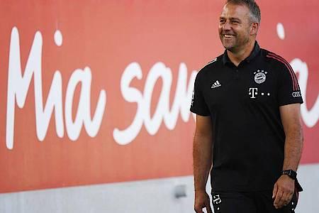 Bayern-Trainer Hansi Flick will mit seinem Team in die Endrunde der Champions League einziehen. Foto: Matthias Balk/dpa