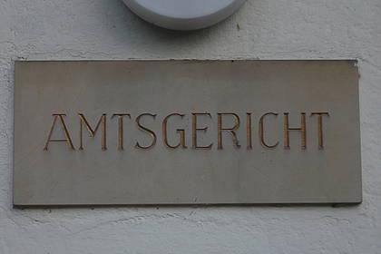 Eingang Amtsgericht