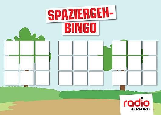 Spaziergeh-Bingo zum Selbstgestalten