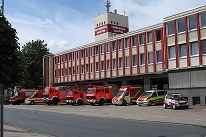 Gebäude Feuerwehr Herford