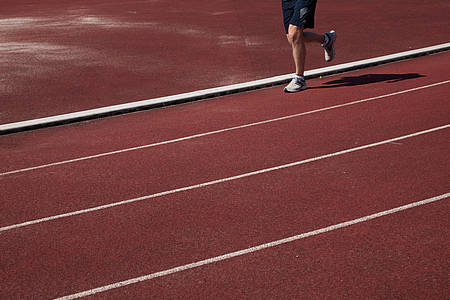 Leichtathletik-Laufbahn