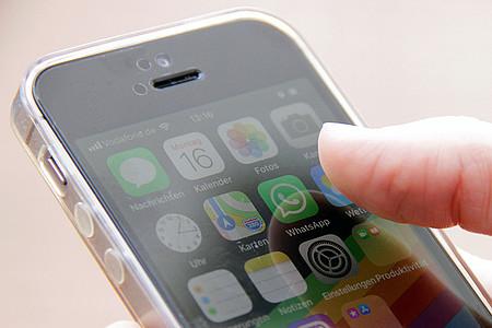 WhatsApp auf dem Smartphone öffnen