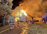 Bauernhausbrand Enger